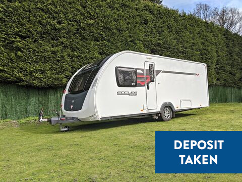 Photo of Used Sterling Eccles Sport 584 SR - 2015 Caravan - 4 Berth Fixed Bed