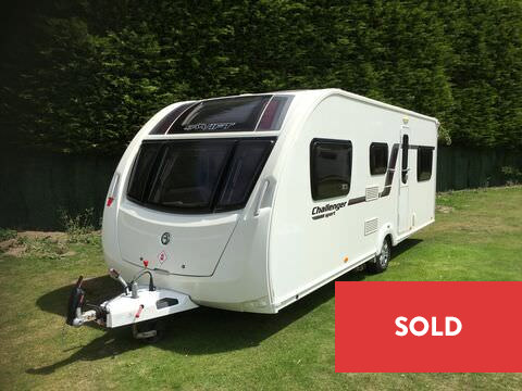 Photo of Used Swift Challenger Sport 586 - 2014 Caravan - 6 Berth Family Layout