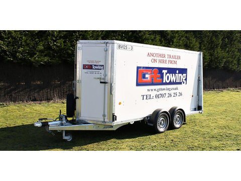 Photo of Enclosed Box Trailer Hire