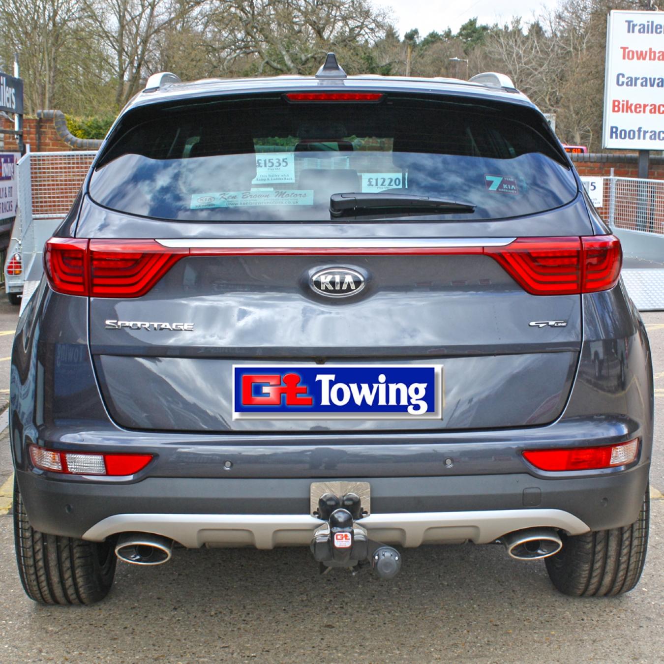 Oris Towbar for Kia Sportage SUV 2010-2015 Detachable Tow Bar