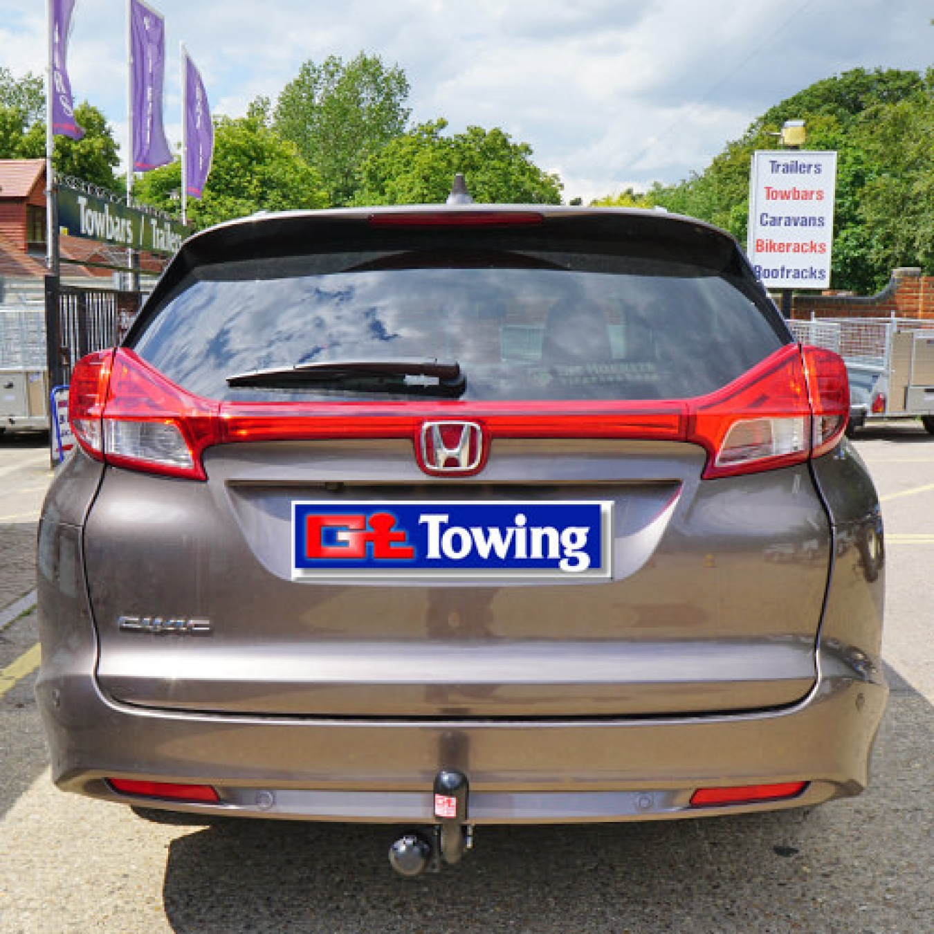 Civic Witter Swanneck Towbar