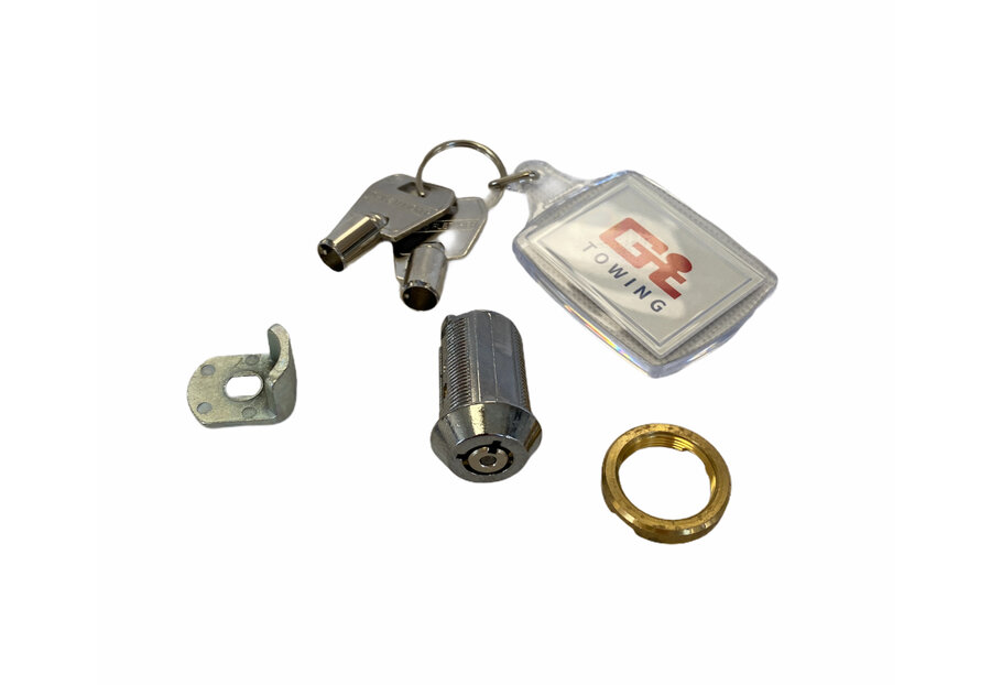 Photo of Ifor Williams Knott Avonride High Security Radial Trailer Hitch Lock - P00917