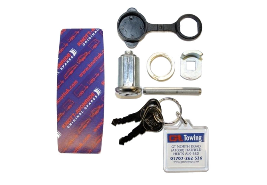 Photo of Ifor Williams Knott Avonride Trailer Hitch Lock - SB035