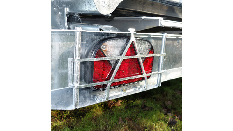 Photo of Ifor Williams TT2012, TT2515, TT3017 & TT3621 Tipper Trailer Light Guards - KX6319