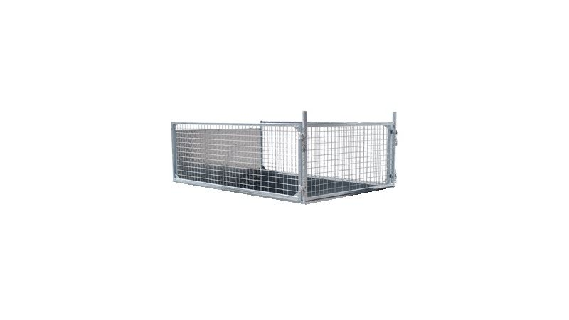 Photo of Ifor Williams GD85 Ramp Mesh Extension Side Kit - KX8003