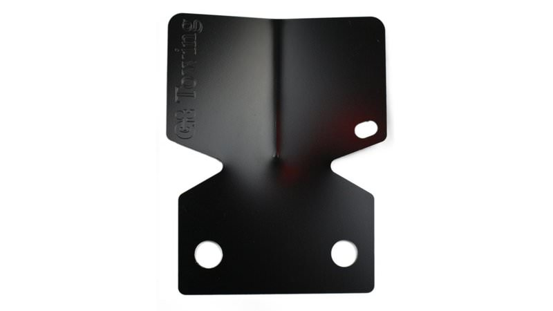 Photo of Black eCoated Towbar Bumper Protector Plate