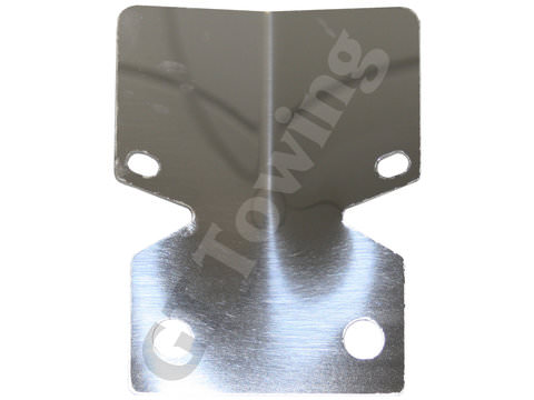 Photo of Stainless Steel Towbar Bumper Protector Plate