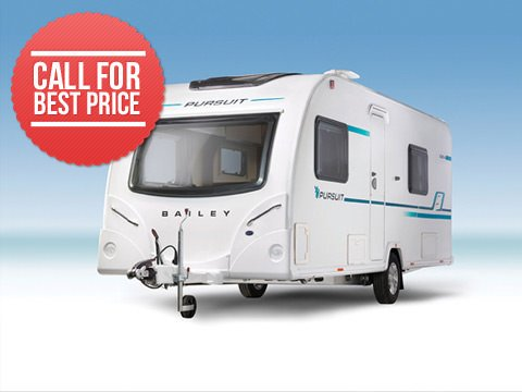 Photo of Bailey Pursuit 2 550-4 - 2018 Caravan - 4 Berth Twin Fixed Single Beds