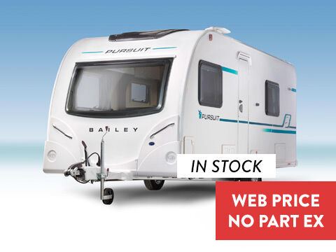 Photo of New Bailey Pursuit 2 550-4 - 2018 Caravan - 4 Berth Twin Fixed Single Beds