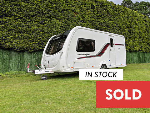 Photo of Used Swift Challenger 480 SR - 2011 Caravan - 2 Berth End Washroom