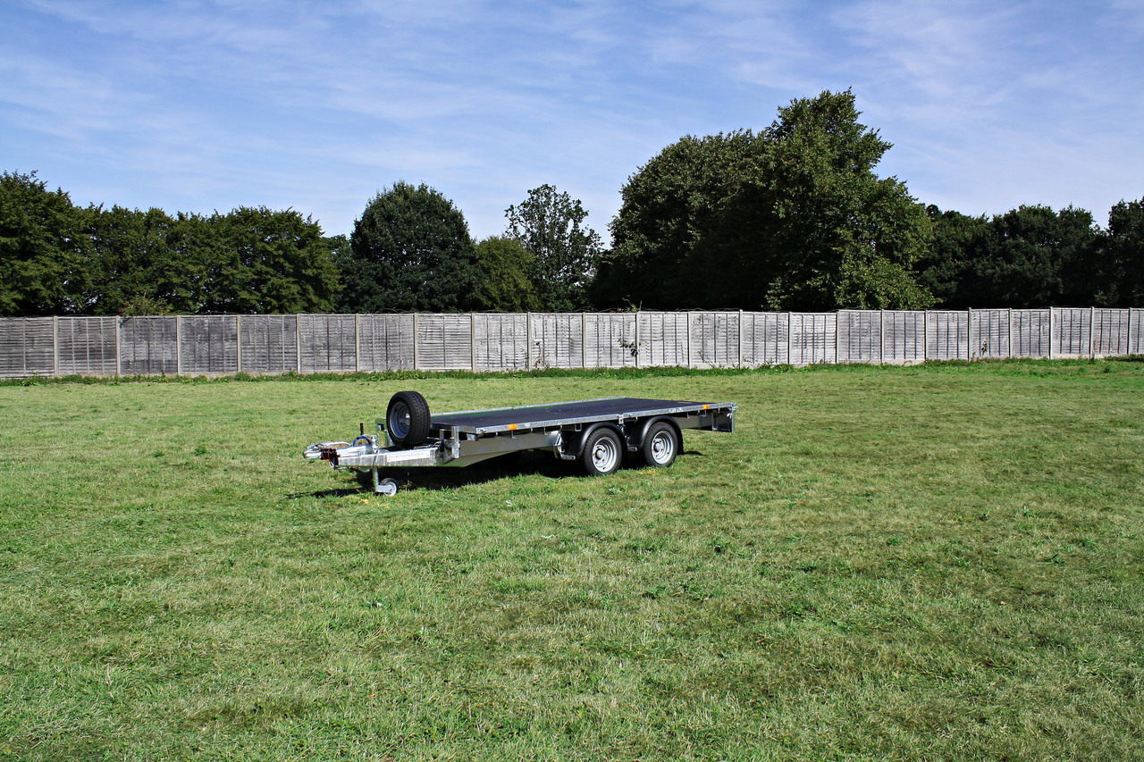 Ifor Williams Lm125hd Flat Bed Trailer
