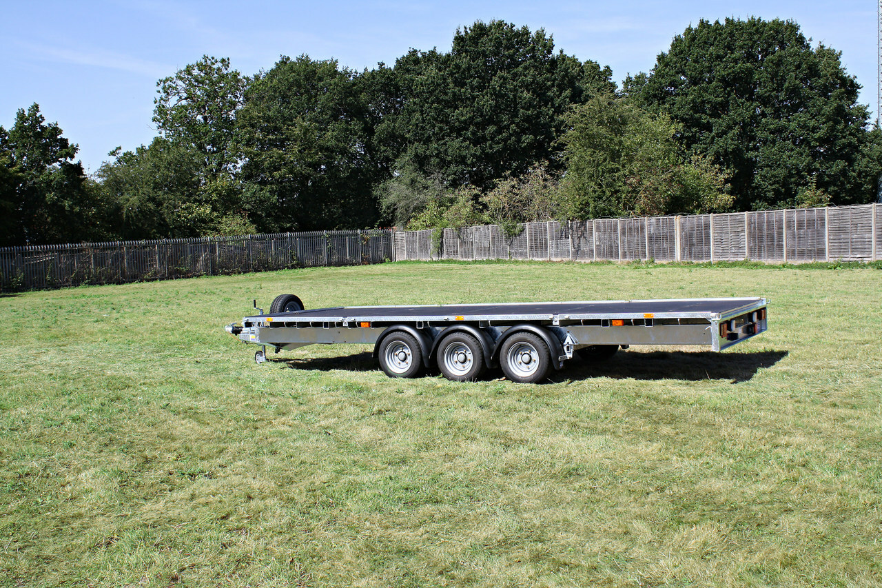 Ifor Williams Lm186t Flat Bed Trailer