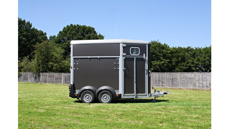 Photo of Ifor Williams HB506 Double Horse Trailer - Graphite