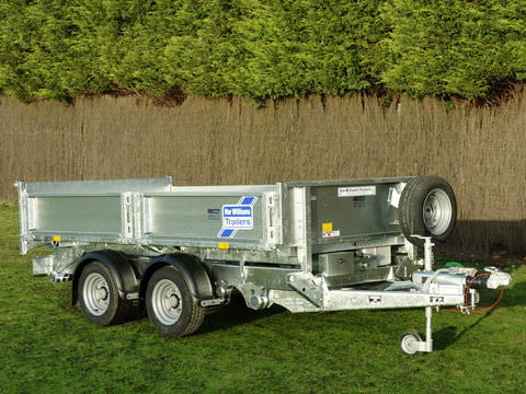 Photo of Ifor Williams TT3017 Power Tipper Trailer
