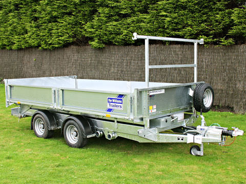 Photo of Ifor Williams TT3621 Power Tipper Trailer