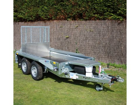 Photo of Ifor Williams GX84 Ramp Plant Trailer