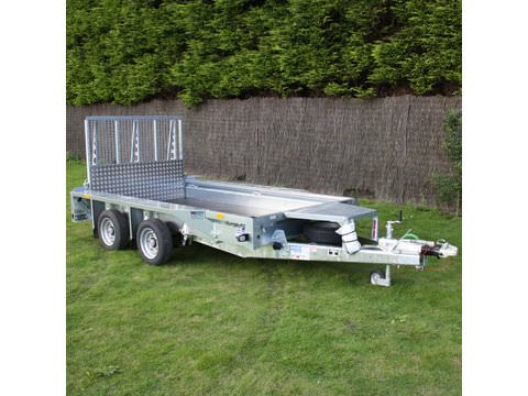 Photo of Ifor Williams GX105HD Ramp Plant Trailer