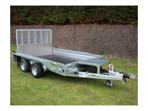 Photo of Ifor Williams GX106 Ramp Plant Trailer