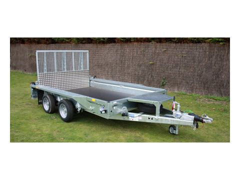 Photo of Ifor Williams GX126 Ramp Plant Trailer