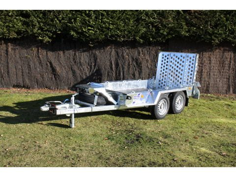 "Photo of Ifor Williams GH94 Beavertail Plant Trailer With 3'9"" Ramp"