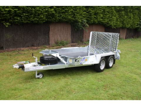 "Photo of Ifor Williams GH1054 Plant Trailer With 3'9"" Ramp"