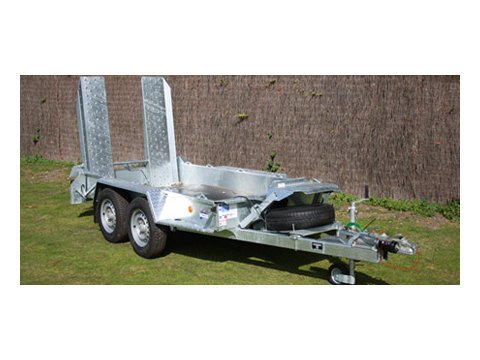 "Photo of Ifor Williams GH94 Beavertail Plant Trailer With 4'9"" Sliding Skids"