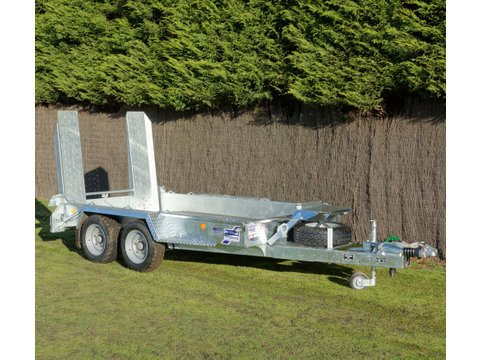 "Photo of Ifor Williams GH1054 Plant Trailer With 4'9"" Skids"