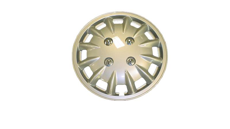 Pair Milenco Chrome 13/Wheel Trim