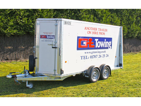 Photo of Ifor Williams BV125-6 Twin Axle Enclosed Trailer with Rear Ramp  (3)