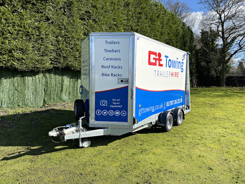 Photo of Ifor Williams BV126-6 Twin Axle Enclosed Trailer