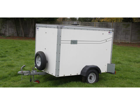Photo of 6ft x 4ft Enclosed Box Trailer or Dog Trailer