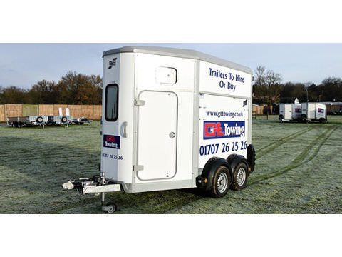 Photo of Ifor Williams HB506 Double Horse Trailer (HB22)