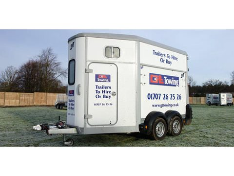 Photo of Ifor Williams HB511 Double Horse Trailer (HB23)