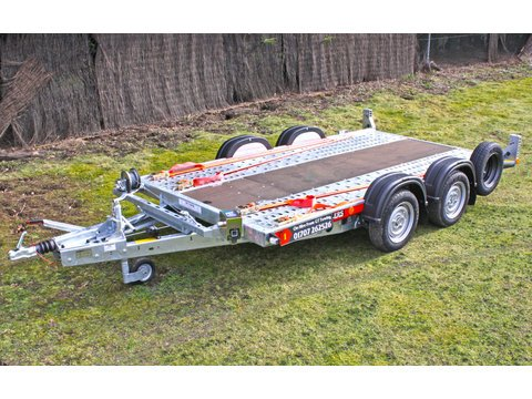 "Photo of Small Brian James Car Trailer Hire 3.3m x 1.7m / 10ft 10"" x 5ft 7"" (CT1)"
