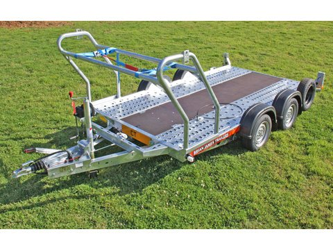 "Photo of Small / Medium Brian James Car Trailer Hire 4.0m x 1.8m / 13ft 1"" x 5ft 11"" (CT3)"