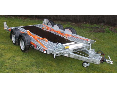 "Photo of Small / Medium Brian James Car Trailer Hire 4.0m x 1.8m / 13ft 1"" x 5ft 11"" (CT4)"