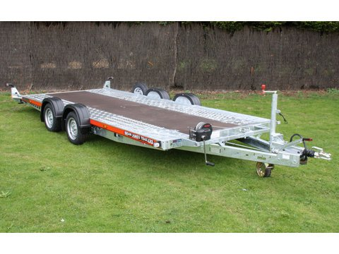 "Photo of Medium / Large Brian James Car Trailer Hire 5.0m x 2.0m / 16ft 5"" x 6ft 6"" (CT5)"
