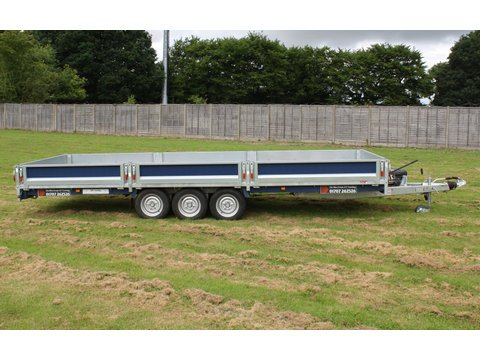"Photo of Large Brian James Tilt Bed Cargo Connect Car Trailer Hire & Goods Trailer Hire 5.5m x 2.02m / 18ft x 6ft 8"" (CT14)"