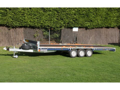 "Photo of Large Brian James Tilt Bed Cargo Connect Car Trailer Hire & Goods Trailer Hire 5.5m x 2.02m / 18ft x 6ft 8"" (CT15)"