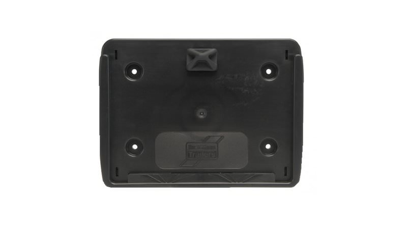 Photo of Ifor Williams Black Square Number Plate Holder - P07994
