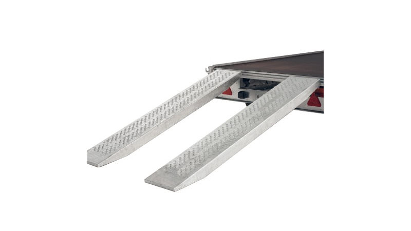 Photo of Ifor Williams Pair 8ft Steel Loading Ramps / Skids - KX5568