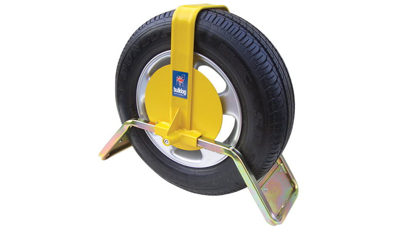 QD-11 Bulldog Wheel Clamp