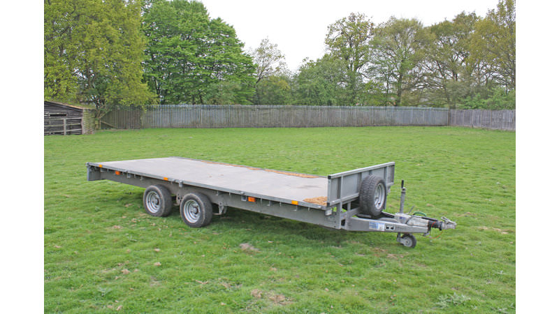 Second Hand Ifor Williams Lm166g Trailer