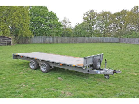 Photo of Used Ifor Williams LM166G Flatbed Trailer