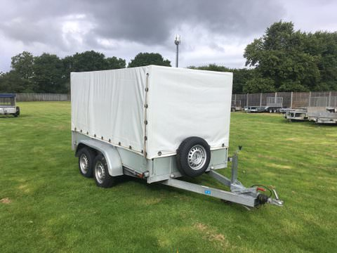 Photo of Used Anssems Covered General Duty Goods Trailer