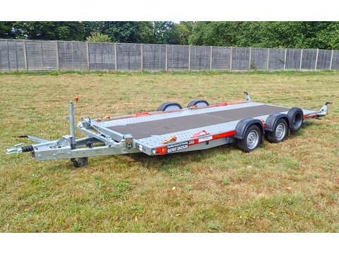 "Photo of Medium / Large Brian James Car Trailer Hire 5.0m x 2.0m / 16ft 5"" x 6ft 6"" (CT9)"