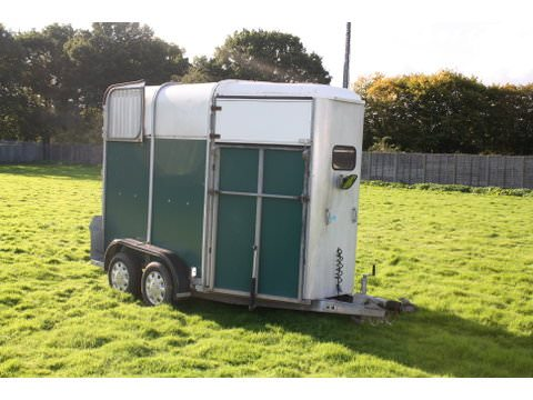 Photo of Used Ifor Williams HB505 Green Double Horse Trailer