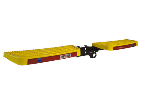 Photo of Full Width Tow-Trust Towbar Mounted Pro-Step in Yellow
