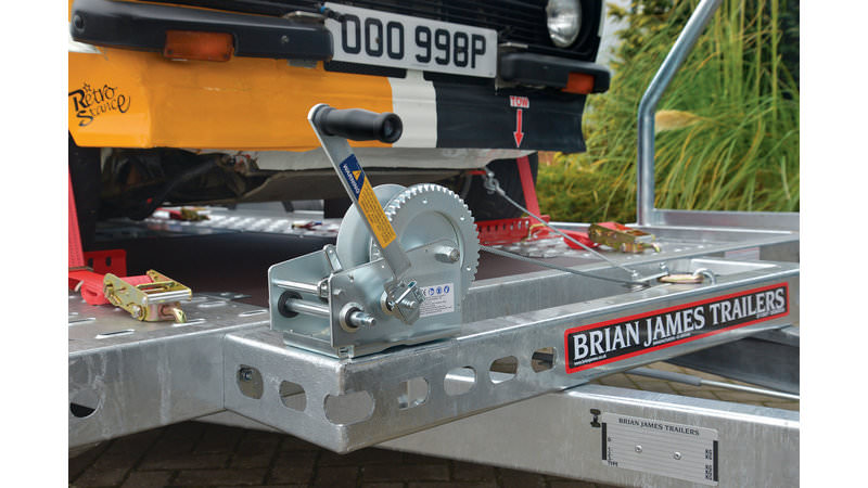 Brian James A2 & A4 Manual 2 Speed Winch