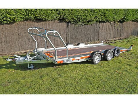 "Photo of Medium / Large Brian James Car Trailer Hire 5.0m x 2.0m / 16ft 5"" x 6ft 6"" (CT8)"
